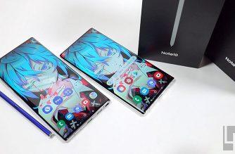 三星Note10 / Note10+台灣市售版開箱&安兔兔效能跑分測試 @LPComment 科技生活雜談