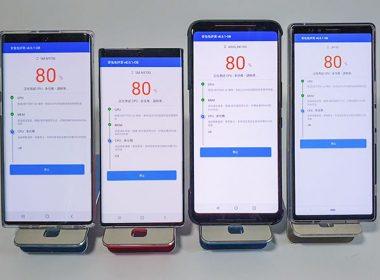 實測高通版三星Note10安兔兔v8跑分破44w,與Exynos版差別不大(ROG Phone 2、Sony Xperia 1比較) @LPComment 科技生活雜談