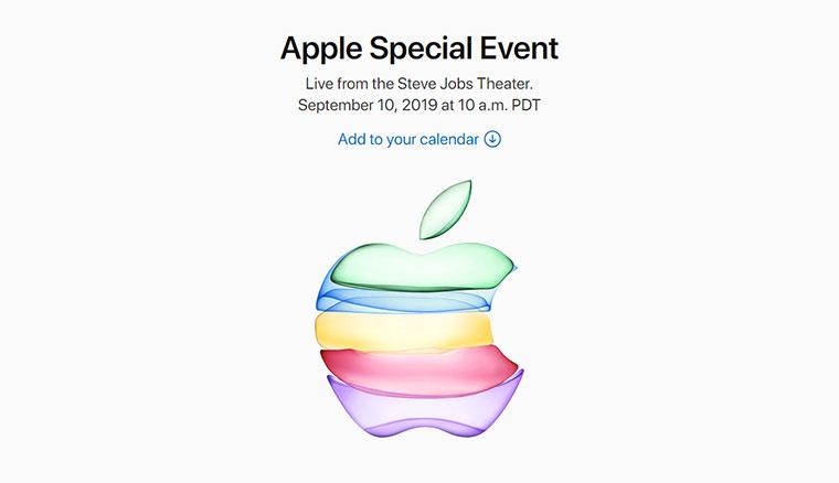 蘋果發表會時間確認!新iPhone 11系列將於台灣時間9/11凌晨發表