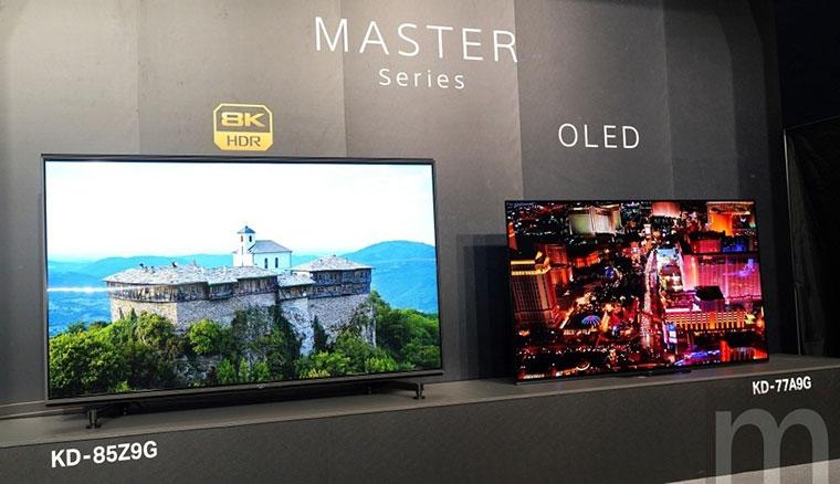 Sony在台推出全新8K全陣列LED電視Z9G系列以及第三代OLED電視