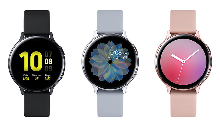 Note10登場前夕,三星發表採用虛擬錶圈的Galaxy Watch Active2新款智慧錶
