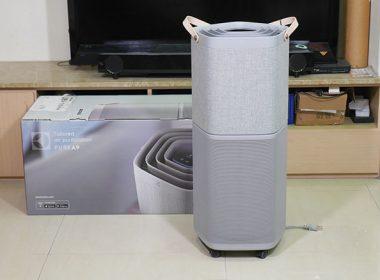 伊萊克斯PURE A9高效能抗菌空氣清淨機開箱:獨家立體氣旋搭配360度HEPA 13級抗菌濾網,帶來北歐般的好空氣 @LPComment 科技生活雜談