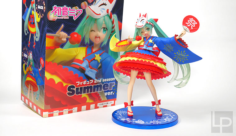TAITO初音未來2nd season Summer ver.夏季版景品模型開箱