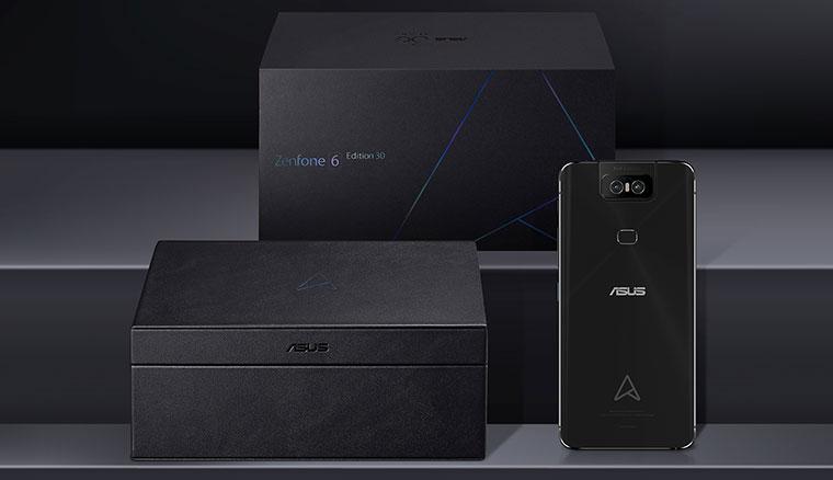全球首發:ASUS ZenFone 6 30周年限定版即日起在台開賣