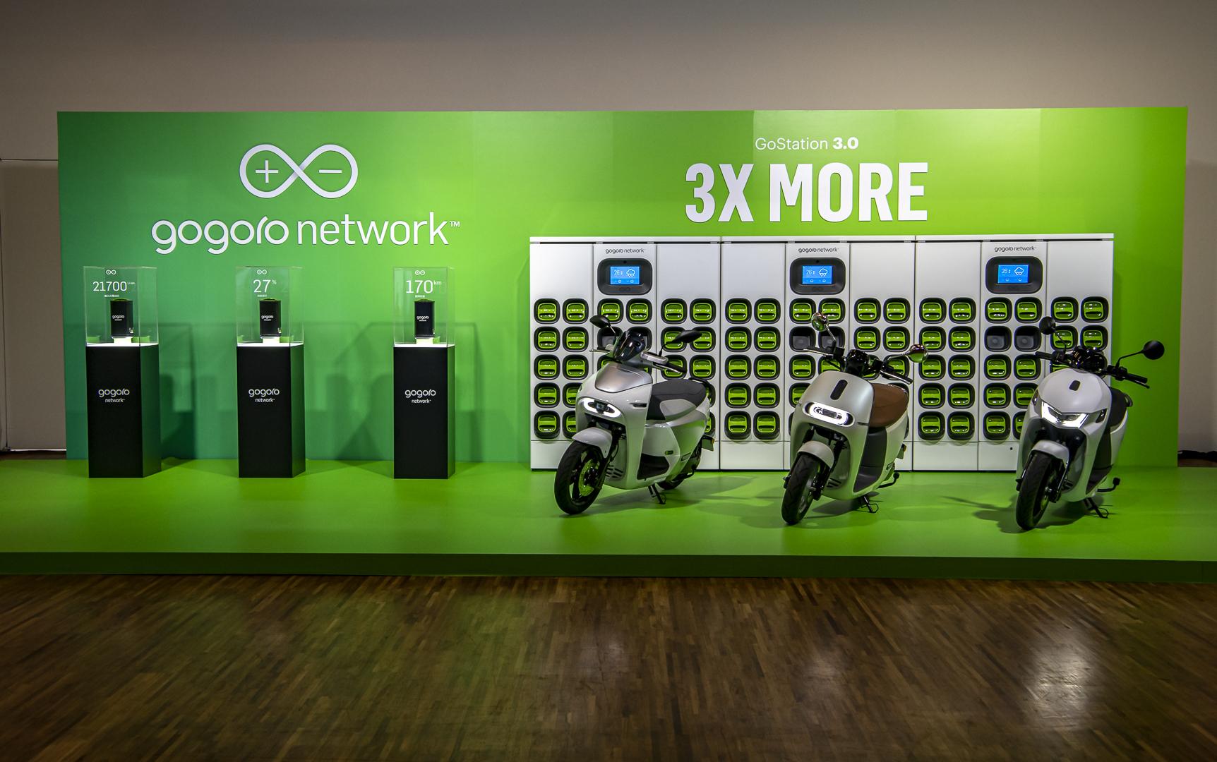 第三代換電站GoStation 3.0登場,並推出Gogoro Network「自由省」電池資費方案