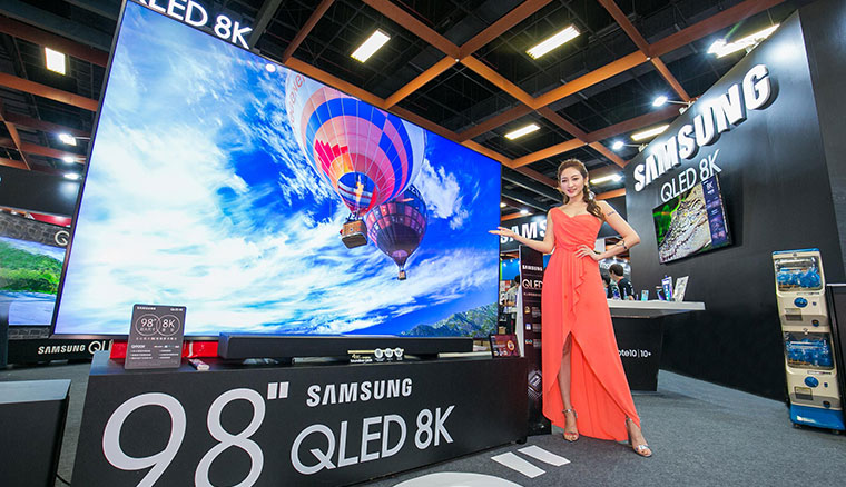 要價近200萬!三星在台推出98吋頂級QLED 8K量子電視