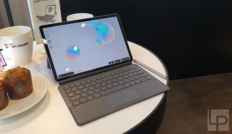 三星旗艦平板Galaxy Tab S6九月中在台上市!配備Note10同級S Pen、裝上鍵盤皮套一秒變筆電