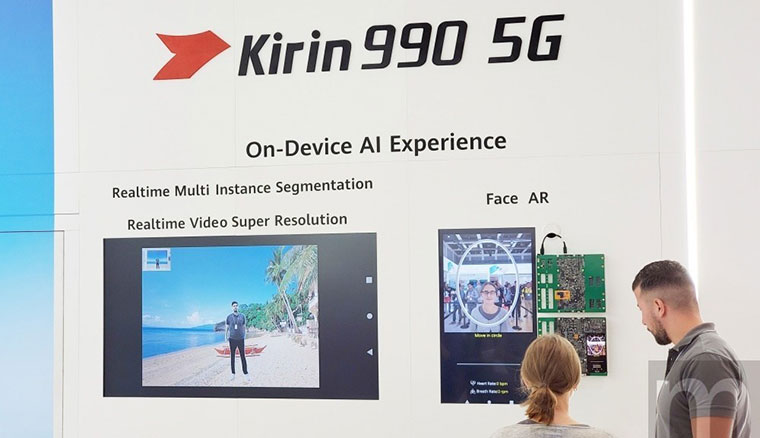 華為揭曉整合5G連網晶片的Kirin 990 5G,導入伺服器等級AI算力