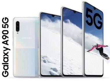 三星發表相對平價並搭載S855旗艦規格的Galaxy A90 5G中階手機 @LPComment 科技生活雜談