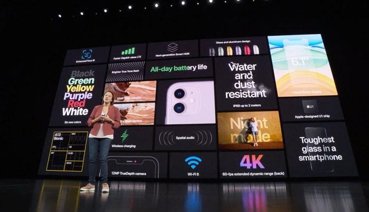 新款iPhone 11發表:搭載A13處理器、雙鏡頭相機與多種色彩款式