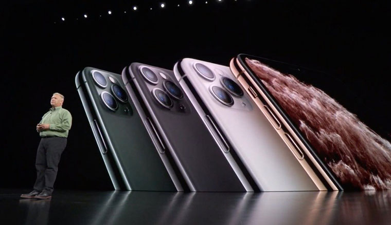 iPhone 11 Pro、11 Pro Max同步亮相,新增夜幕綠、換上三鏡頭主相機設計