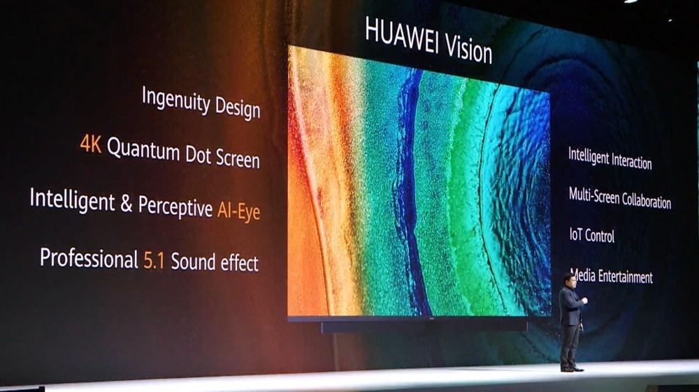 華為智慧屏正式亮相:是一款恰好有電視功能的大尺寸連網顯示器