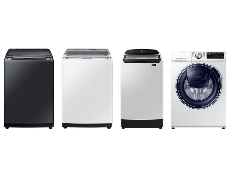 三星在台推出四款全新洗衣機:智慧觸控WA20R/WA18、雙效手洗WA13R與潔徑門小容量機型WW10N