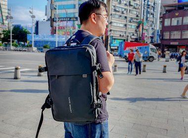 NayoSmart Nayo EXP科技背包開箱:可擴展的彈性收納空間、短期出差輕旅行一咖搞定! @LPComment 科技生活雜談