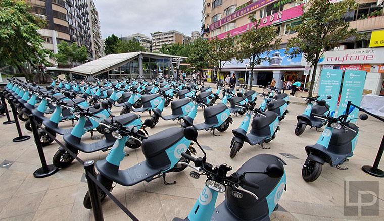 Gogoro共享電動機車服務GoShare正式在台北推出,宣示年底前將投車達3000輛