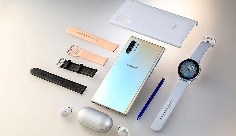 三星推限量「閃耀奇機組」,Note10+、Galaxy Watch Active2和Galaxy Buds一步到位只要NT$44888
