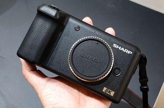 Sharp展出採用m43接口的超小型8K攝影機8K Prosumer,售價估12萬起 @LPComment 科技生活雜談