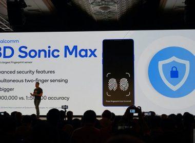 Qualcomm揭曉新一代超音波指紋技術,識別面積增大、以AI提昇精準度 @LPComment 科技生活雜談