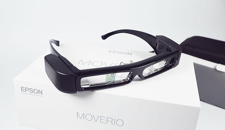 Epson Moverio BT-30C次視代智慧眼鏡開箱:可以隨身攜帶的80吋螢幕