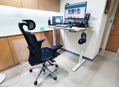 更舒適健康的打電腦!FUNTE 2電動升降桌、Bestmade人體工學椅開箱 @LPComment 科技生活雜談