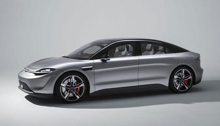 Sony在CES 2020發表了一台電動汽車:Vision-S