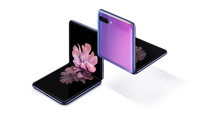 三星發表直立摺疊螢幕手機Galaxy Z Flip,多種角度與分割應用