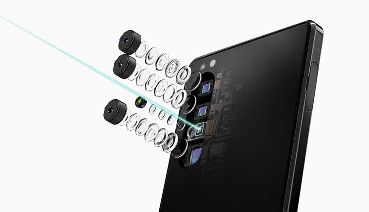 Sony 5G年度旗艦機Xperia 1 II,相機結合蔡司光學技術