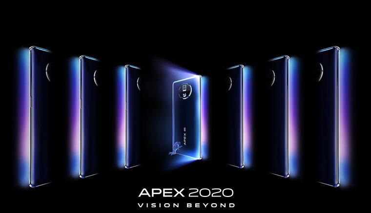 vivo APEX 2020概念機發表:120°無界全視屏、螢幕下鏡頭、60W無線充電、潛望式高倍變焦模組