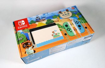 Nintendo Switch動物森友會(動物之森)特別版開箱 @LPComment 科技生活雜談