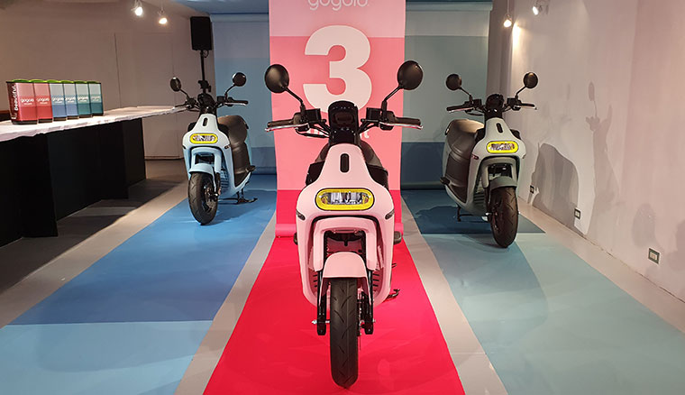 Gogoro 3 Delight發表:加入自動倒車與漸層車色、3系列全面改用12吋框
