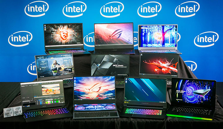 Intel發表第10代Core i H系列高性能筆電處理器