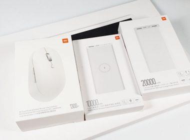 開箱小米行動電源3(2w快充版、1w無線超值版)、無線雙模滑鼠靜音版、小米液晶手寫板(2020米粉節新品) @LPComment 科技生活雜談