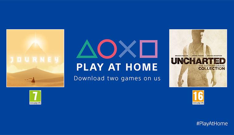 SIE宣布Play At Home方案,兩套遊戲開放免費下載!並針對獨立工作室提供1千萬美元補助基金