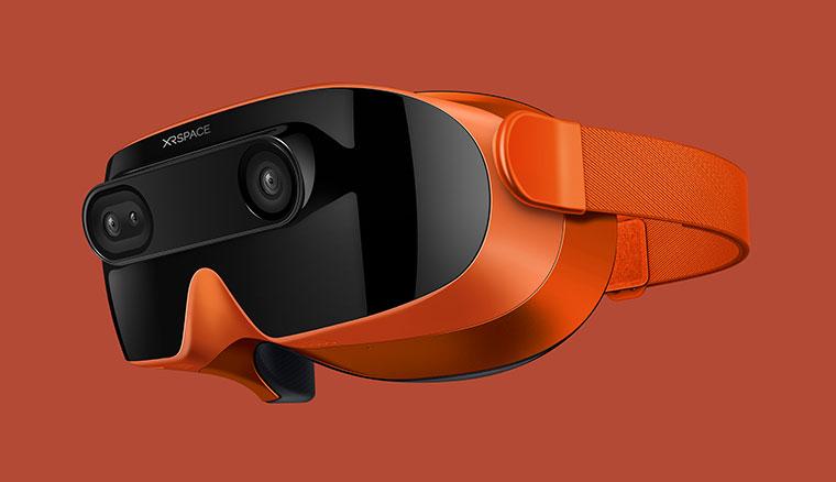 HTC前CEO周永明攜手陶韻智,推出首款5G VR頭戴裝置XRSPACE MOVA