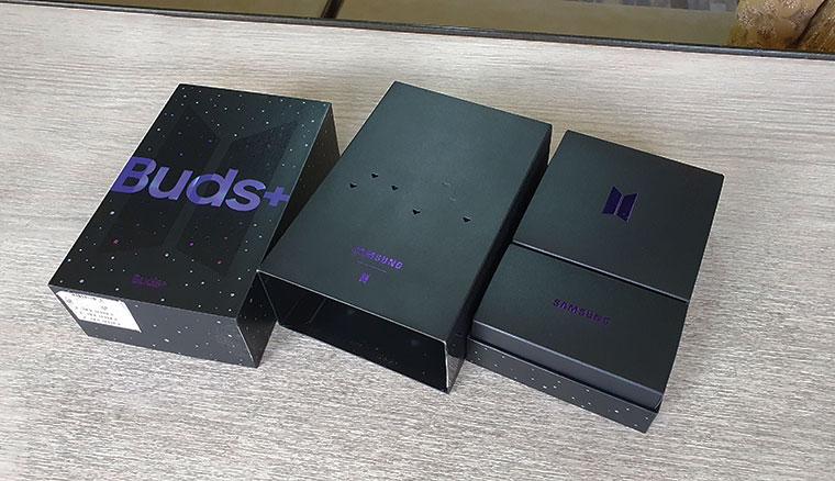 開箱/Samasung Galaxy Buds+ BTS Edition防彈少年團聯名特別款