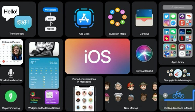 WWDC 2020懶人包:iOS 14、iPadOS 14、WatchOS 7、tvOS 14、macOS 10.16 Big Sur,以及Arm架構的mac電腦處理器