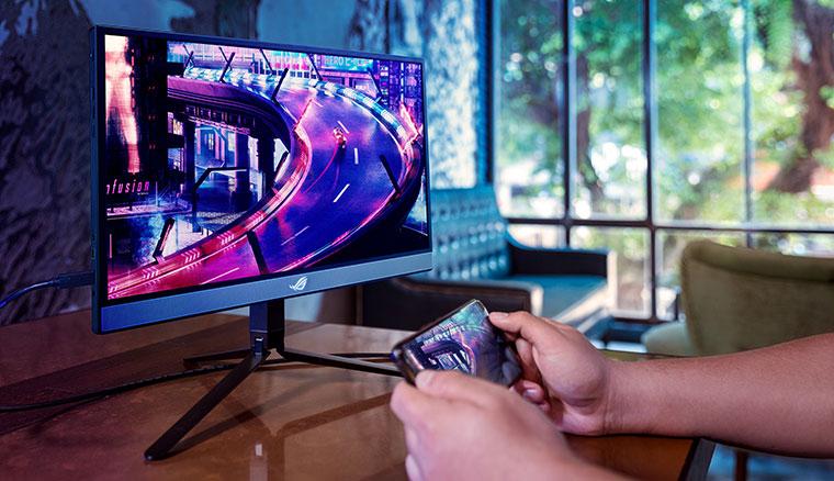 ROG推出可攜式電競螢幕Strix XG17AHP,僅1公分厚度並支援240Hz更新率