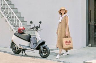 Gogoro攜手MUJI無印良品,推出Gogoro VIVA Plus無印白全新車色 @LPComment 科技生活雜談