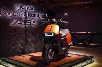 Gogoro 2 Rumbler ABS「閃霧銅」新車款登場 @LPComment 科技生活雜談