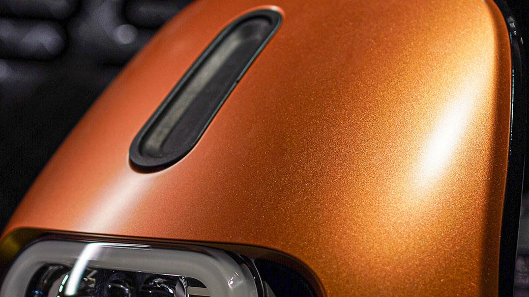 Gogoro 2 Rumbler ABS「閃霧銅」新車款登場