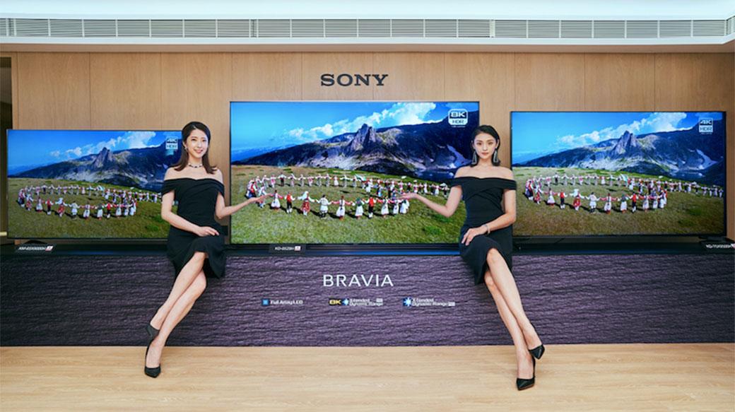Sony推出2020全新BRAVIA電視,8K 85″高階機種Z8H正式登台