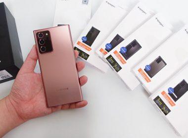 台灣市售版三星Galaxy Note20 Ultra及多款SPIGEN保護殼開箱!(有抽獎) @LPComment 科技生活雜談