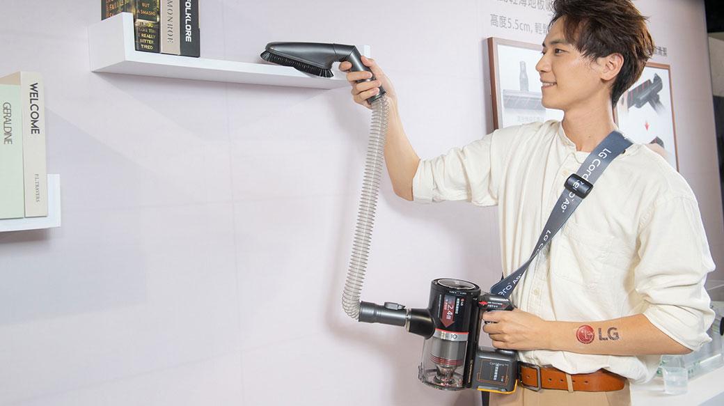LG推出CordZeroThinQ A9 K系列Wi-Fi濕拖無線吸塵器,支援單獨濕拖模式