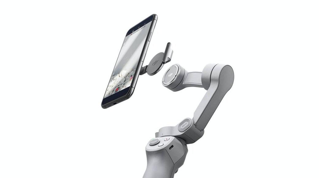 DJI揭曉新款OM4手持穩定器,以磁吸固定機構加快使用效率