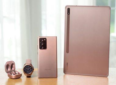 三星Note20 / Tab S7 / Watch 3 / Buds Live / Z Fold2全系列Galaxy新品正式發表 @LPComment 科技生活雜談