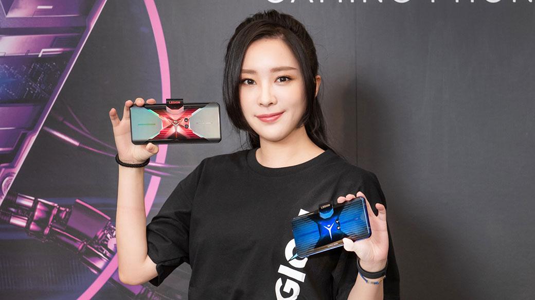 聯想首款電競手機Lenovo Legion Phone Duel 9月15日正式開賣