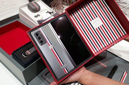 要價NT$112888!三星Galaxy Z Flip 5G Thom Browne特別版開箱 @LPComment 科技生活雜談
