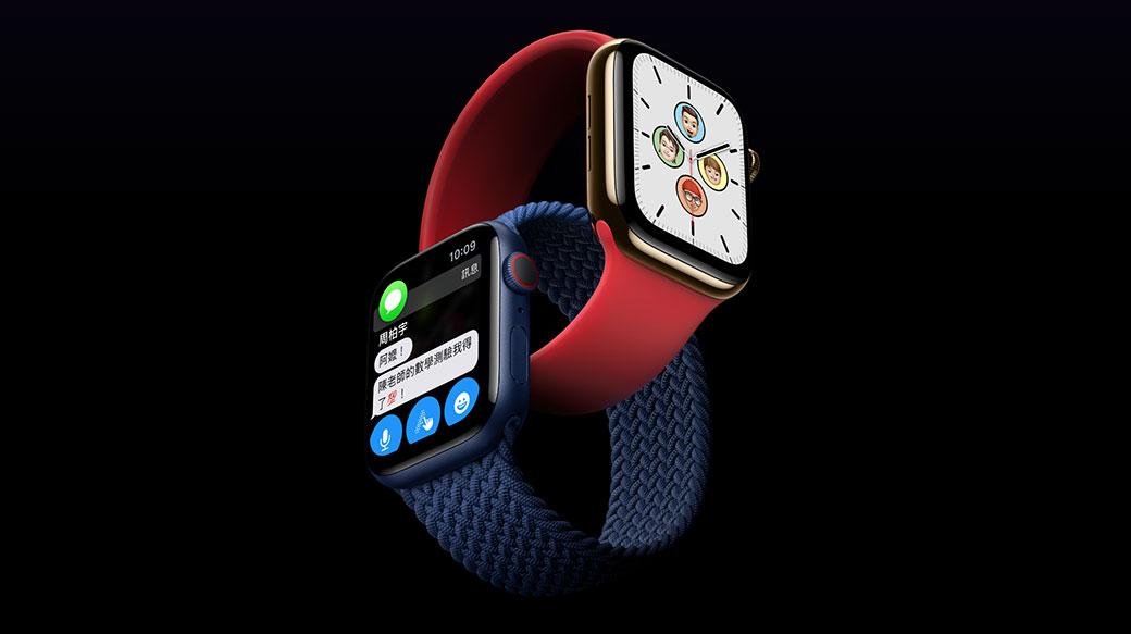 蘋果發表全新Apple Watch Series 6以及平價款Apple Watch SE
