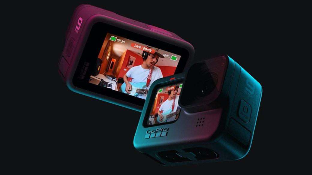 GoPro HERO9 Black正式登場,升級1.4吋彩色前置螢幕、電力提升30%