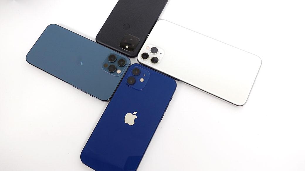 iPhone 12 / 12 Pro藍色款開箱評價:拍照對決Google Pixel 5與iPhone 11 Pro Max